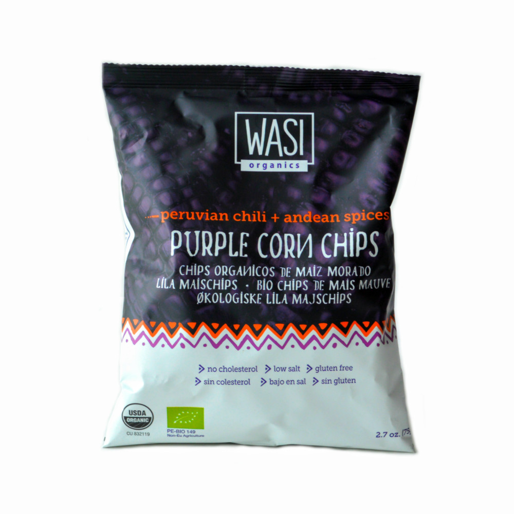5 Bgs Spicy Purple Corn Chips 70gm