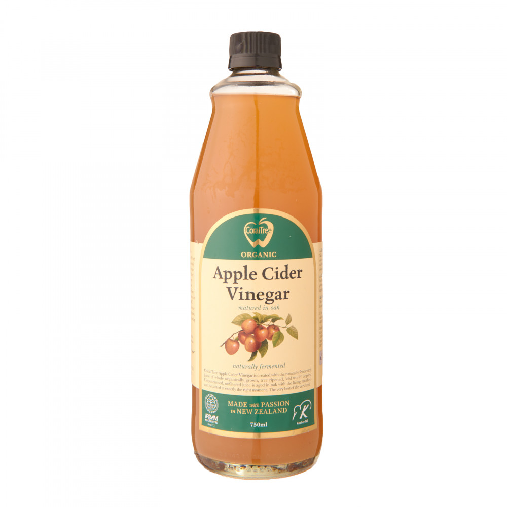 Coral Tree Organic Apple Cider Vinegar