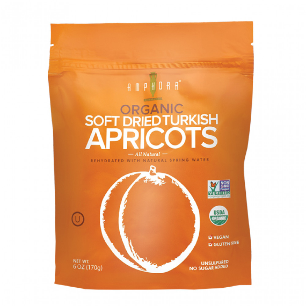 Organic Soft Dried Apricots