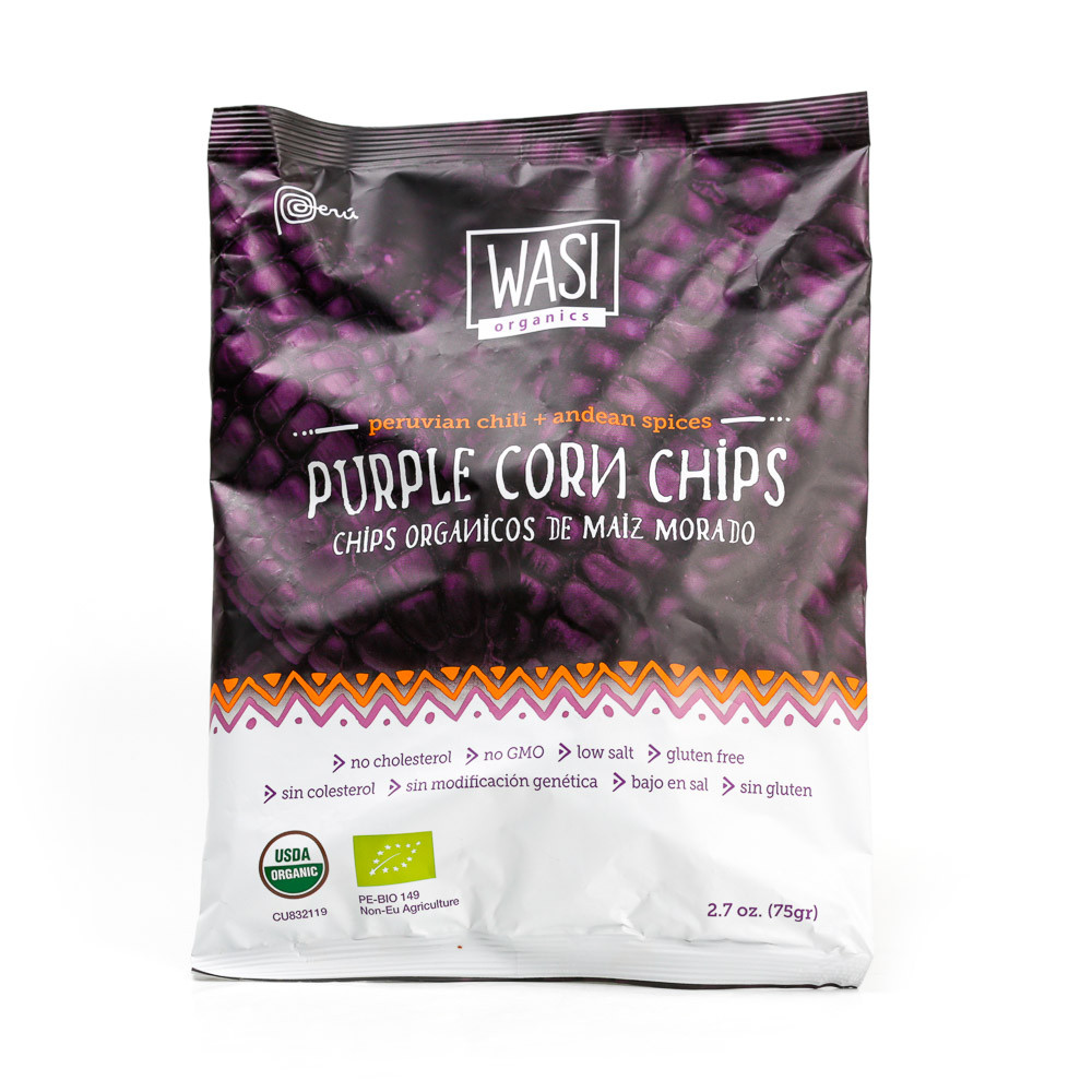5 Bgs Organic Purple Corn Chips 70gm