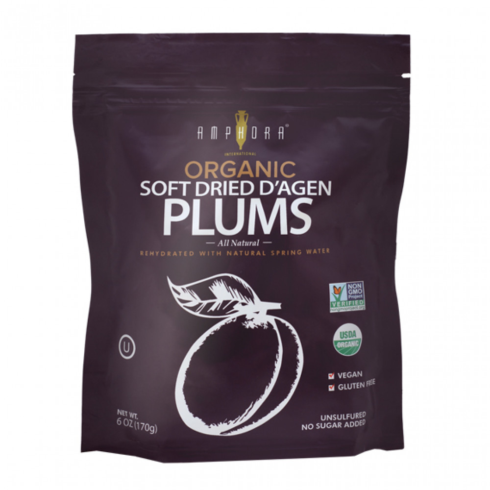 Organic Soft Dried Plums