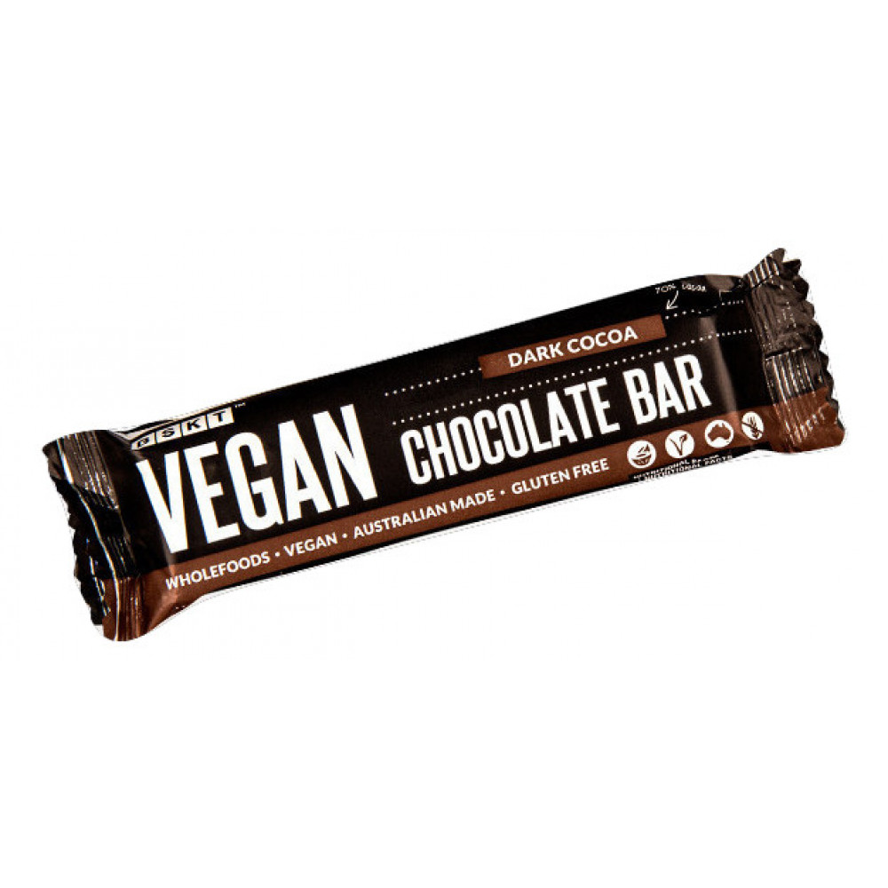 1 Case Vegan Chocolate Bar Dark Cocoa 45g