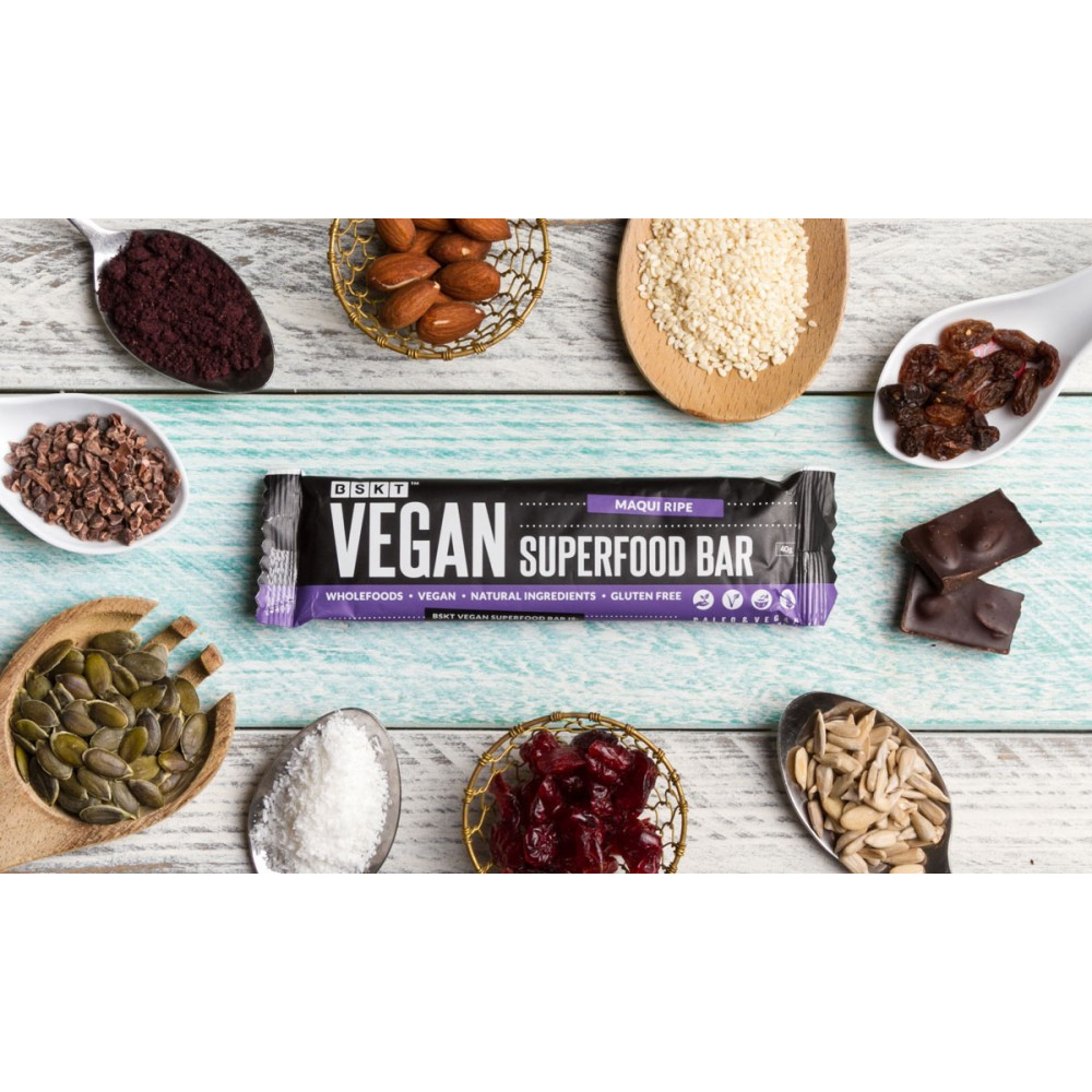 Vegan Superfood Bar Maqui Ripe 45g Bar