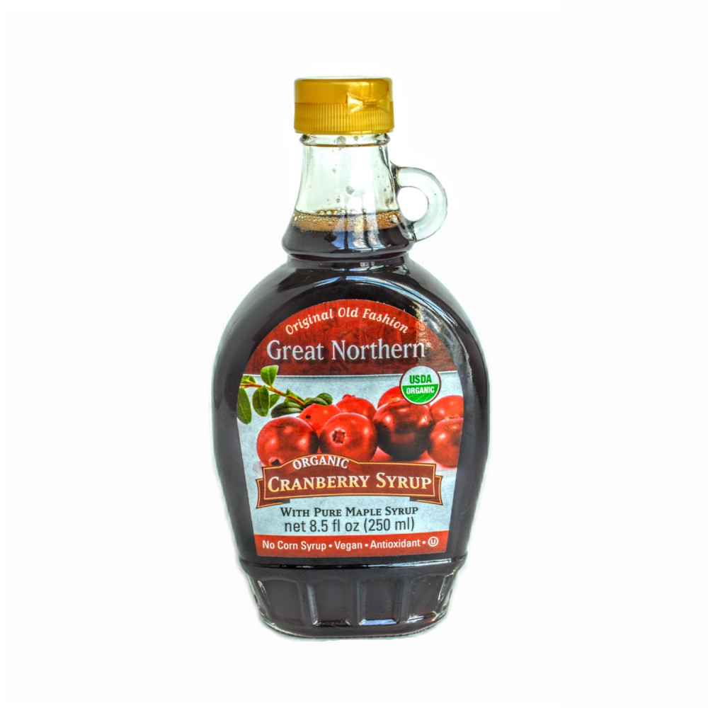 Organic Cranberry Maple Syrup (case, 12 Btl)