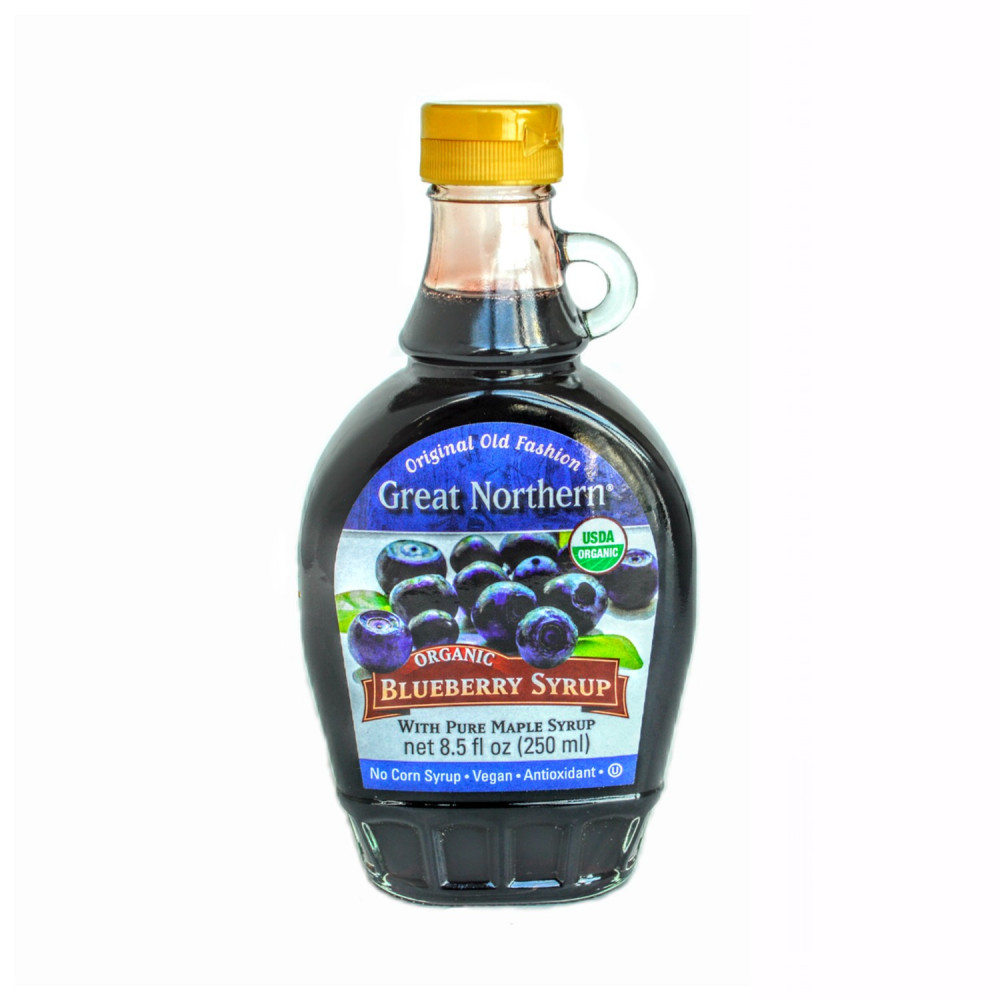 Organic Blueberry Maple Syrup (case, 12 Btl)