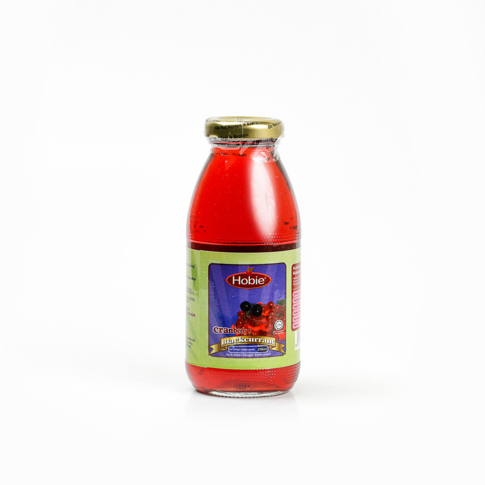 20 Btls Cranberry / Blackcurrant 250ml