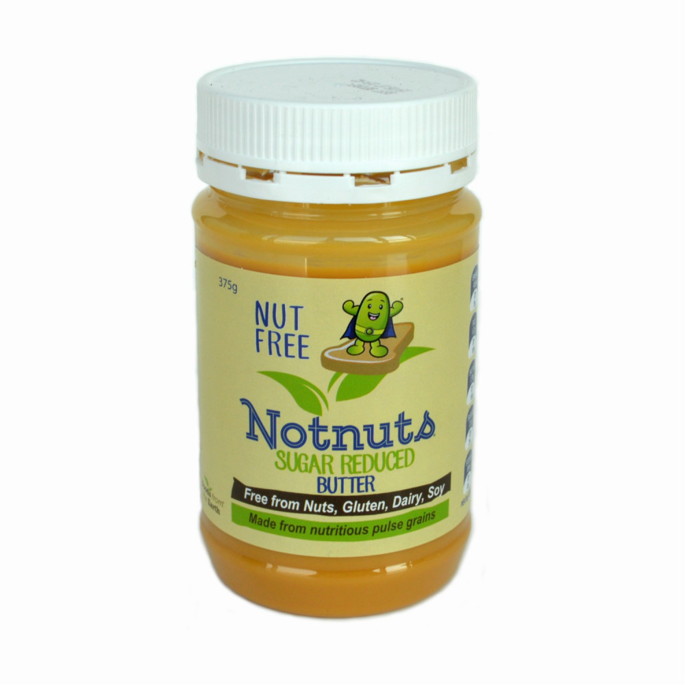 NotNuts Sugar Reduced Butter (12pc/case)