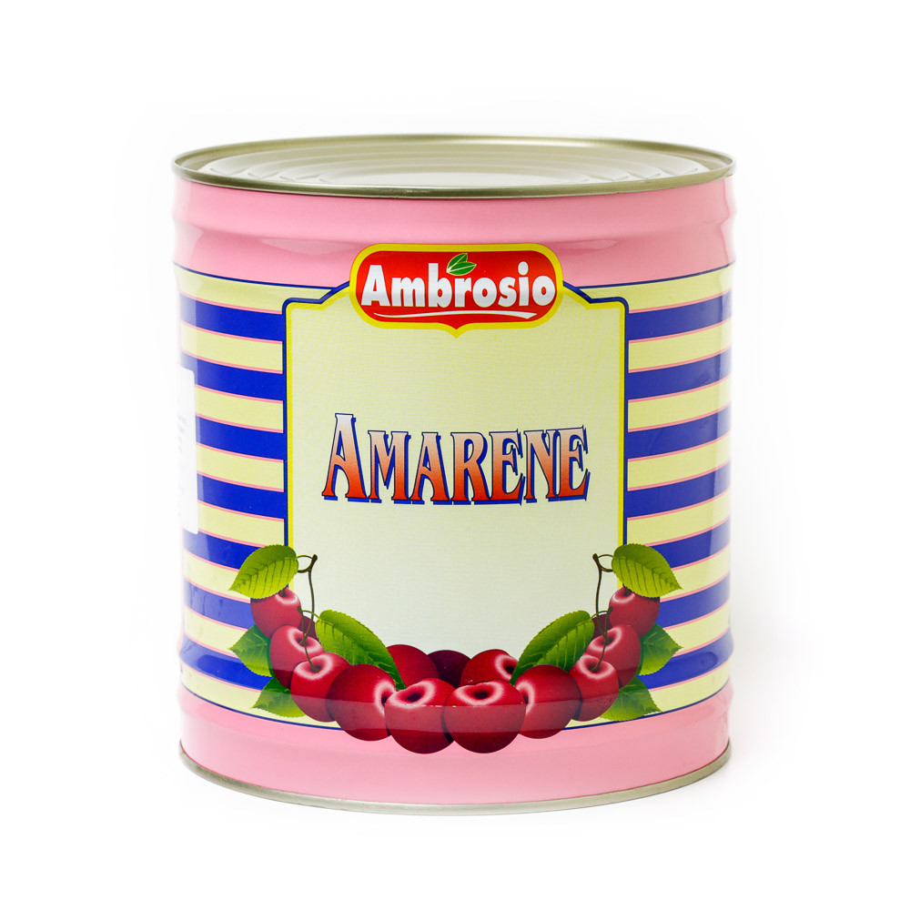 Amarene Black Cherries - 40% Syrup
